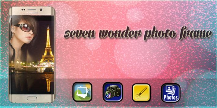 Seven Wonder Photo Frame poster