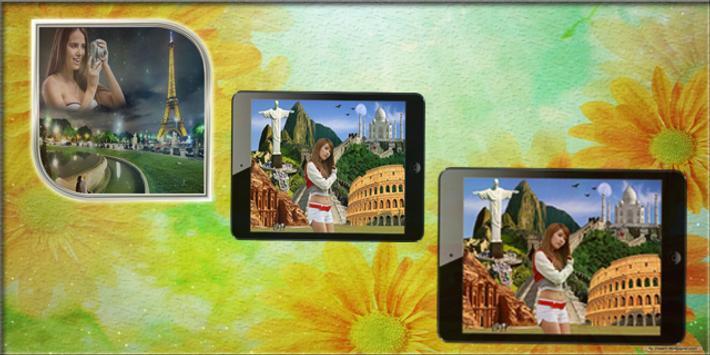 Seven Wonder Photo Frame apk screenshot