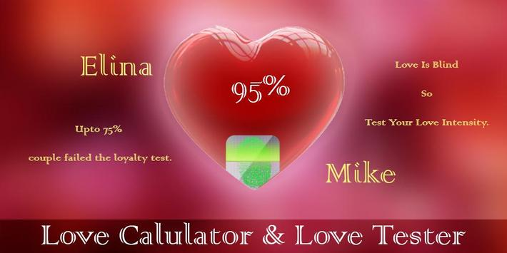Love Calculator & Tester screenshot 1