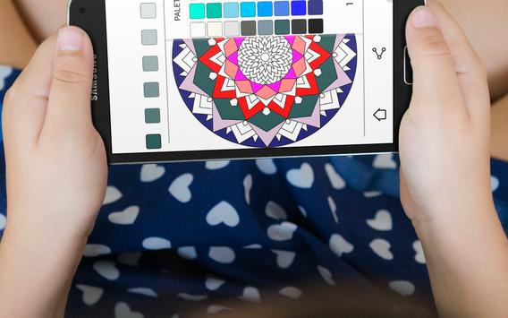 Mandala Coloring Book screenshot 2