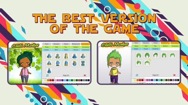 Chibi Maker Poster Apk Screenshot