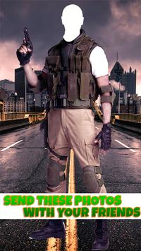 Army Commando HD Photo Suit Changer & Editor apk screenshot