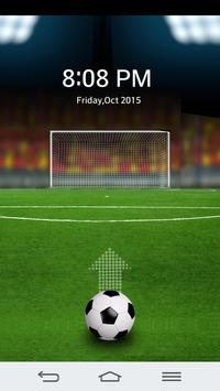Football Soccer Screen Lock apk screenshot