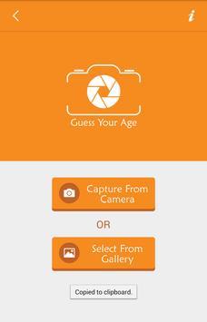Guess Your Age apk screenshot