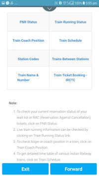 Train PNR Status apk screenshot