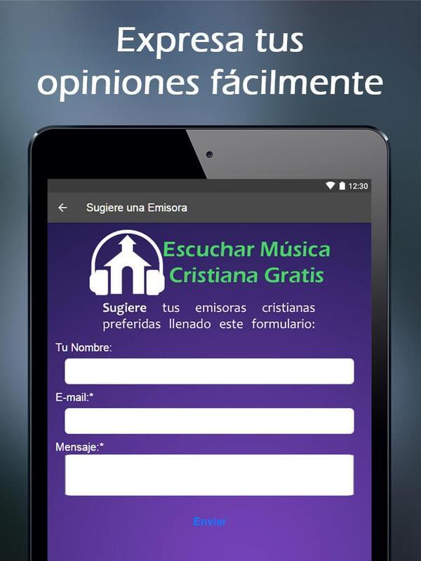 6bba19f15 ... Escuchar Música Cristiana Gratis captura de pantalla 14