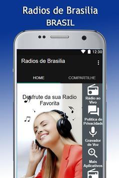 Radios de Brasilia apk screenshot