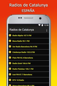Radios de Catalunya screenshot 1