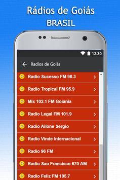 Radios de Goias screenshot 2