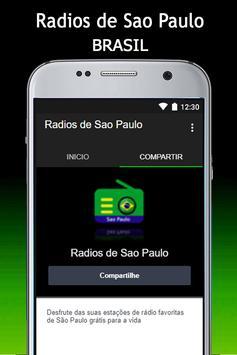 Radios de Sao Paulo apk screenshot