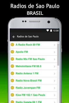 Radios de Sao Paulo screenshot 1