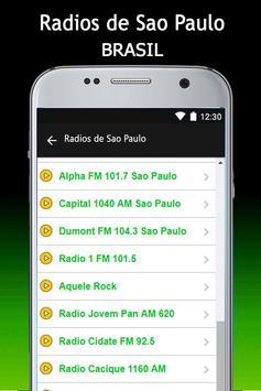Radios de Sao Paulo screenshot 6