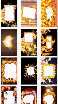 Fire Frames Photo Effects 2018 screenshot 1