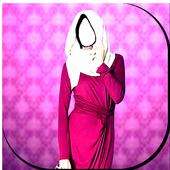 Beauty Hijab Photo Frames 2018 icon