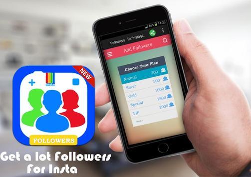 Followers For Instagram -Prank apk screenshot