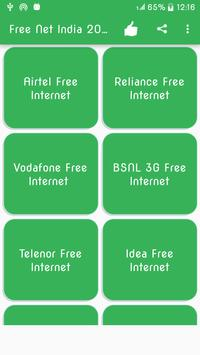Free Net India 2018 apk screenshot