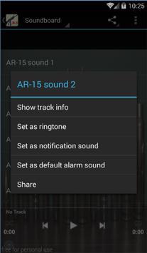 Guns Sounds and Ringtones apk screenshot