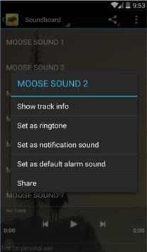 Moose Call Sound screenshot 1