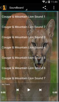 Cougar Sounds and Ringtones poster
