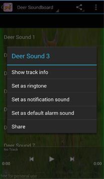 Deer Sounds apk screenshot