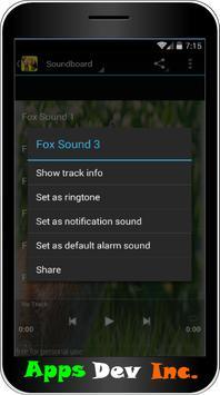 Fox Sounds and Ringtones apk screenshot