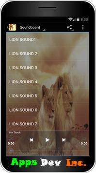 Lion Sound and Ringtones poster