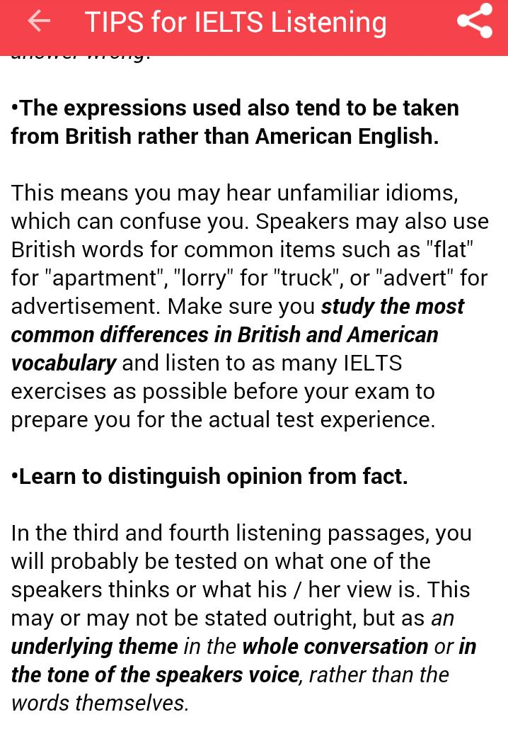 IELTS Vocabulary PRO for Android - APK Download