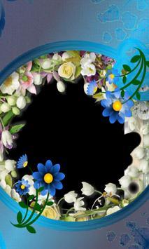 corrugated Photo flower Frames poster