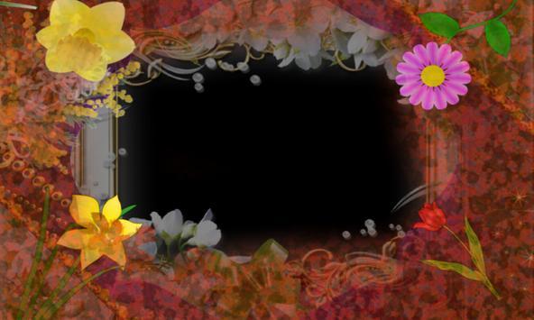 hawaiian Photo flower Frames apk screenshot