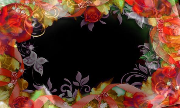 wrinkle Photo flower Frames poster