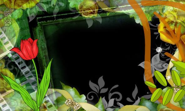 wrinkle Photo flower Frames apk screenshot