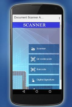 Document Scanner App - Qr Code poster