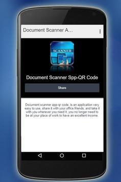 Document Scanner App - Qr Code screenshot 3