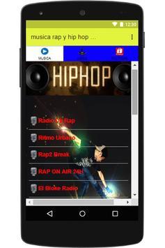musica rap y hip hop español captura de pantalla de la apk