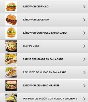 Comida rápida fácil screenshot 10