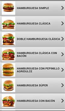 Comida rápida fácil screenshot 3