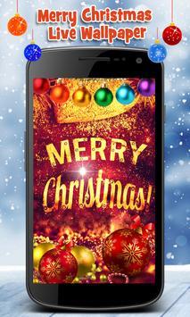 Merry Christmas Live Wallpaper apk screenshot