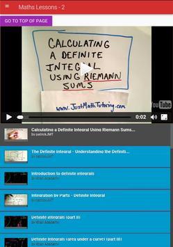 Maths Lessons 2 apk screenshot