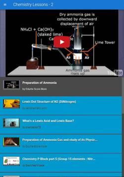 Chemistry Lessons - 2 apk screenshot