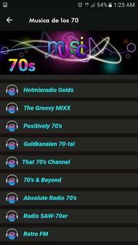 Musica de los 70 screenshot 5