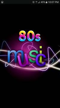 Musica de los 80 poster