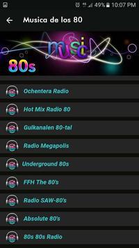 Musica de los 80 screenshot 2