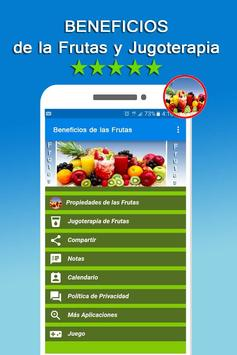 Beneficios de las Frutas poster