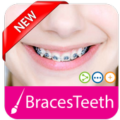 Braces For Teeth Editor icon