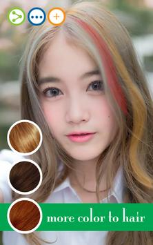 Hair style changer apk screenshot
