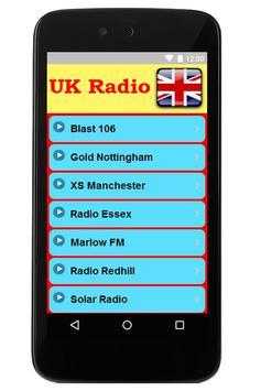 UK Online Radio poster