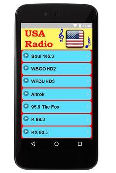 USA FM Radio poster