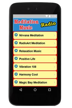 Meditation Music Radio Stations poster
