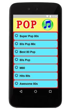 Musica Pop de los 80 poster