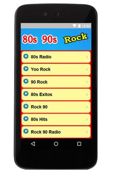 80s 90s Rock Music Radio Free poster